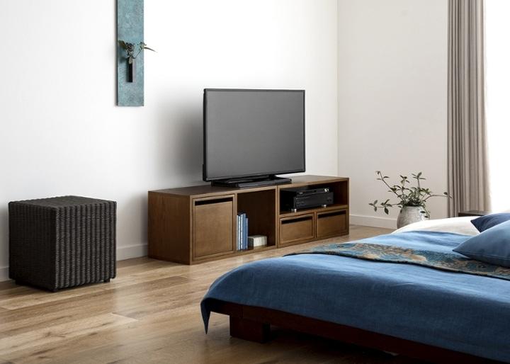 キューブ・テレビボード (GB) v01 セット:画像10
