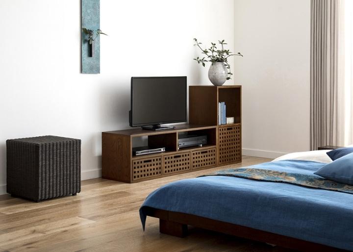 キューブ・テレビボード (GB) v01 セット:画像11