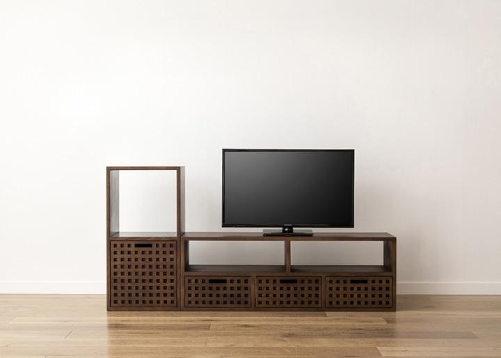 キューブ・テレビボード (GB) v01 セット:画像15