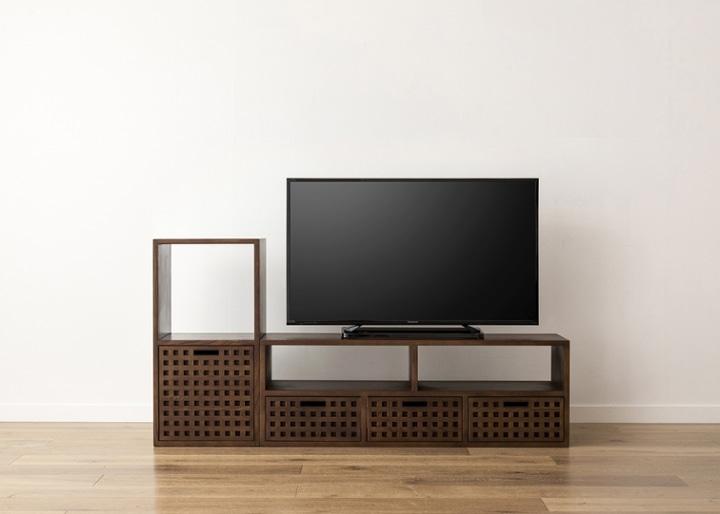 キューブ・テレビボード (GB) v01 セット:画像16