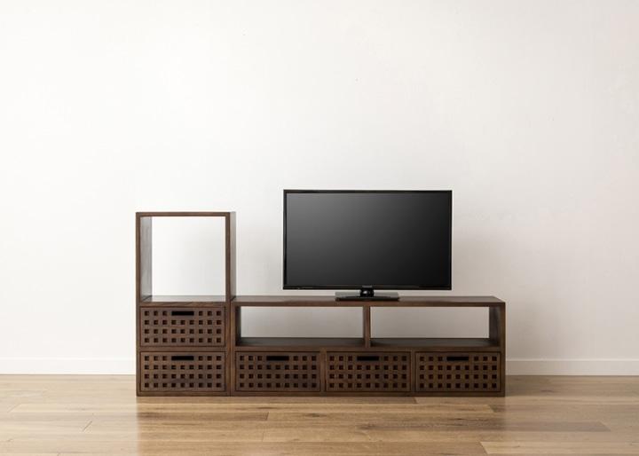 キューブ・テレビボード (GB) v01 セット:画像17