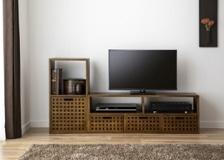 キューブ・テレビボード (GB) v01セット
