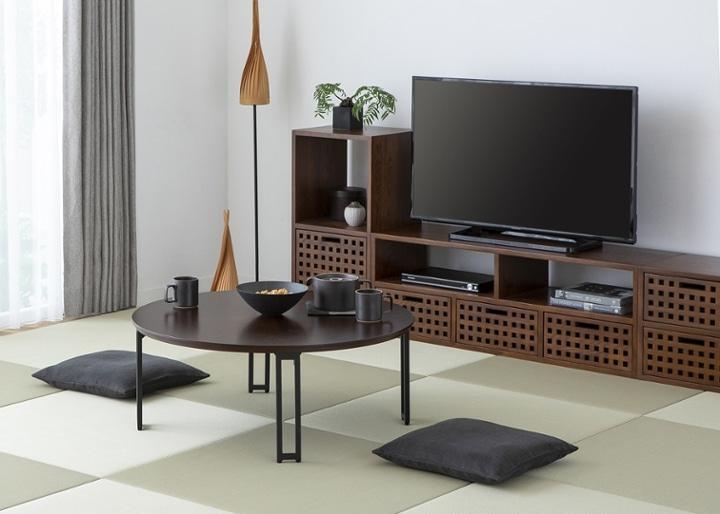 キューブ・テレビボード (GB) v01 セット:画像8