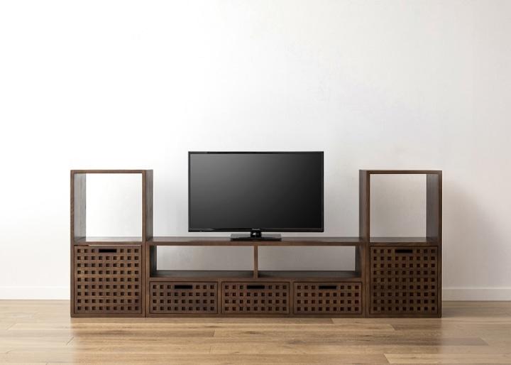 キューブ・テレビボード (GB) v02 セット:画像15