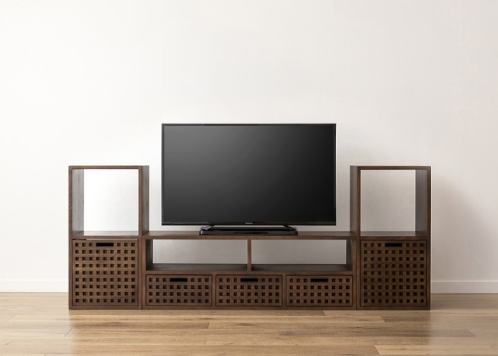 キューブ・テレビボード (GB) v02 セット:画像16