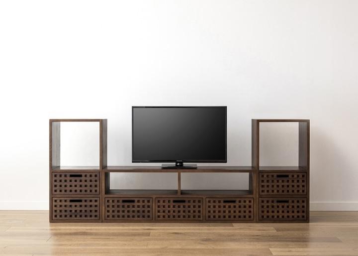 キューブ・テレビボード (GB) v02 セット:画像17