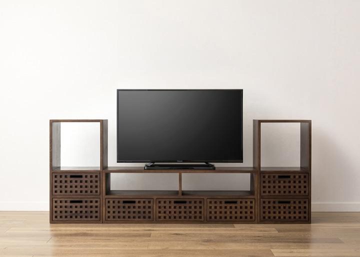 キューブ・テレビボード (GB) v02 セット:画像18