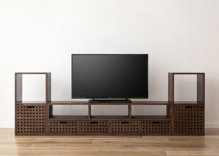 キューブ・テレビボード (GB) v02 セット:画像19