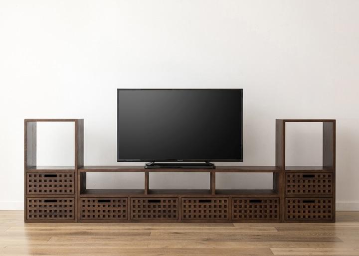 キューブ・テレビボード (GB) v02 セット:画像20
