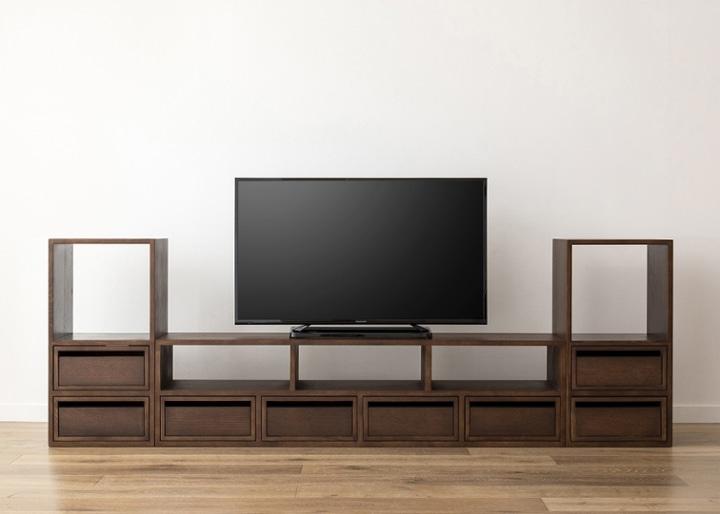 キューブ・テレビボード (GB) v02 セット:画像21