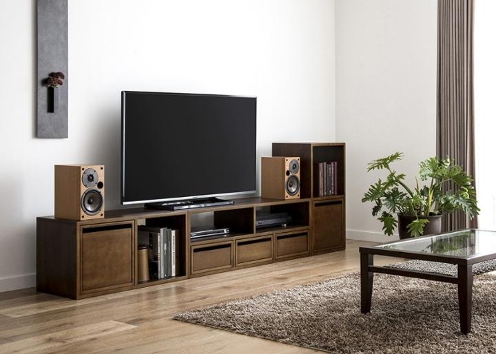 キューブ・テレビボード (GB) v02 セット:画像6
