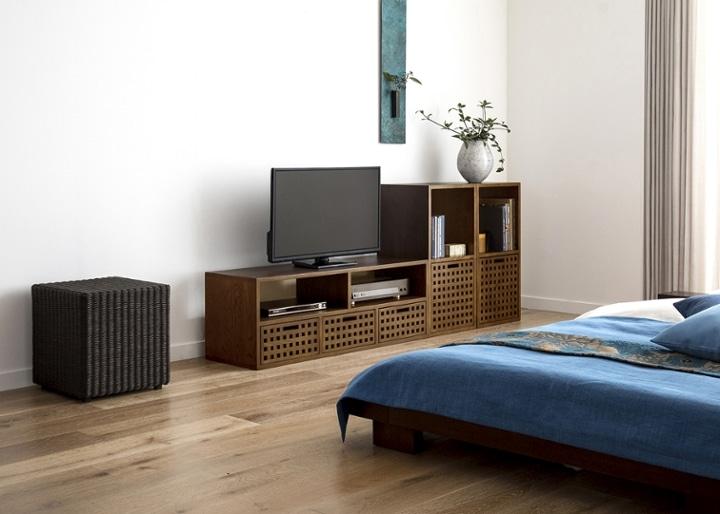 キューブ・テレビボード (GB) v02 セット:画像8