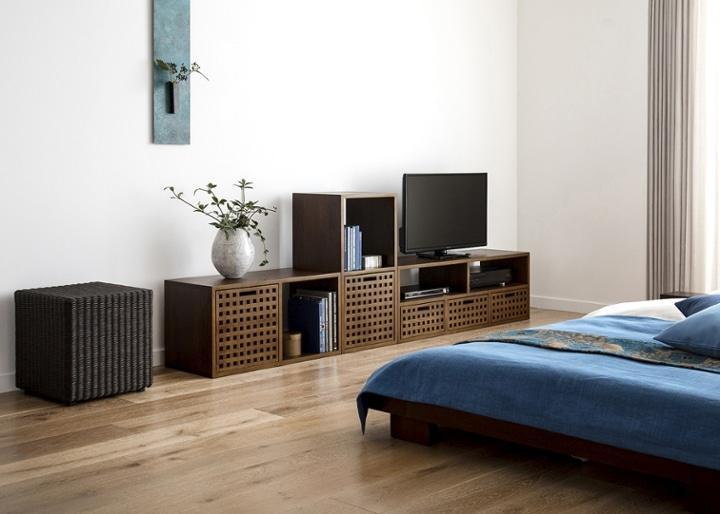 キューブ・テレビボード (GB) v02 セット:画像9