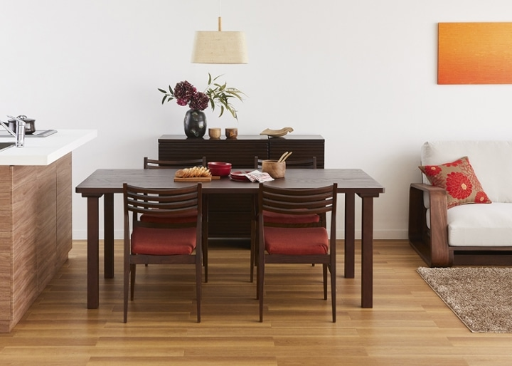 ムク・ダイニングテーブル 1800:画像12