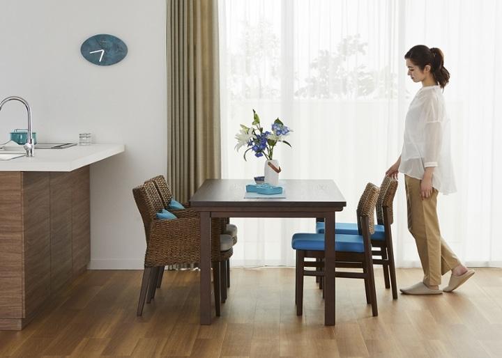 ムク・ダイニングテーブル 1800:画像16