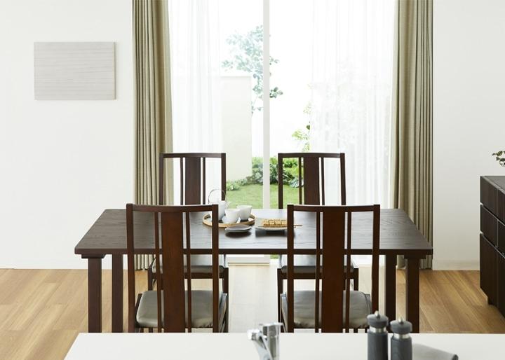 ムク・ダイニングテーブル 1800:画像4