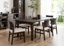 ムク・ダイニングテーブル 1800 セット 椅子6脚