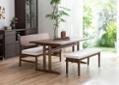ローダイニングテーブル 1500 セット ベンチv01+椅子2脚:画像10