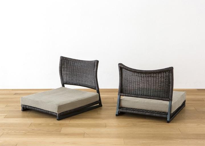 座椅子 (ラタン) カバー (カレイド):画像19