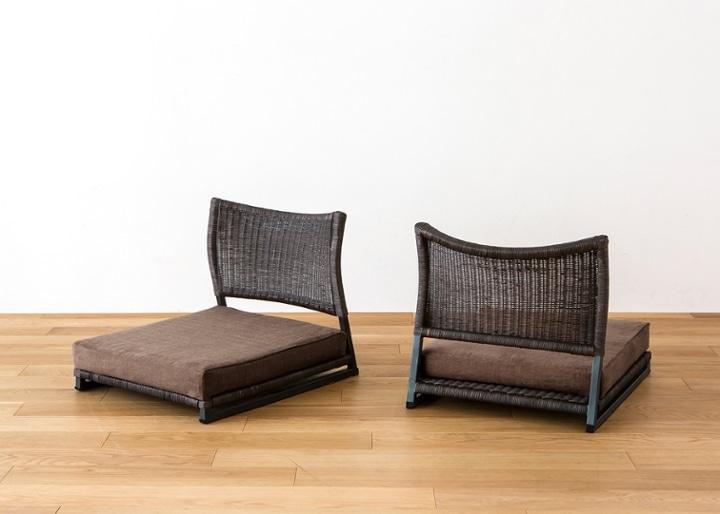 座椅子 (ラタン) カバー (カレイド):画像23