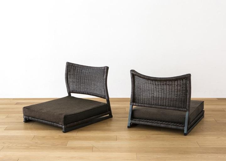 座椅子 (ラタン) カバー (カレイド):画像25
