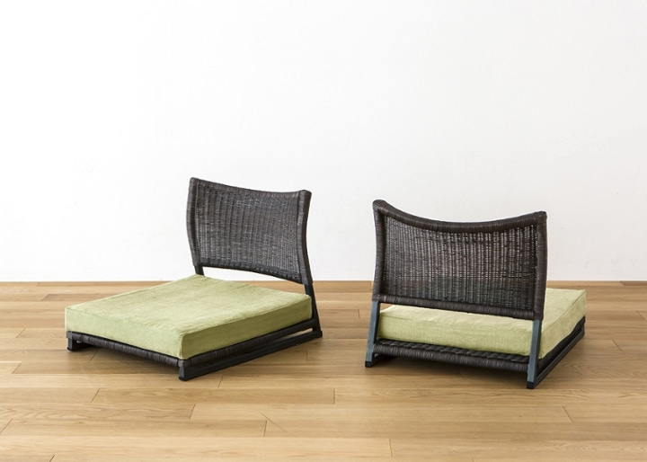 座椅子 (ラタン) カバー (カレイド):画像27