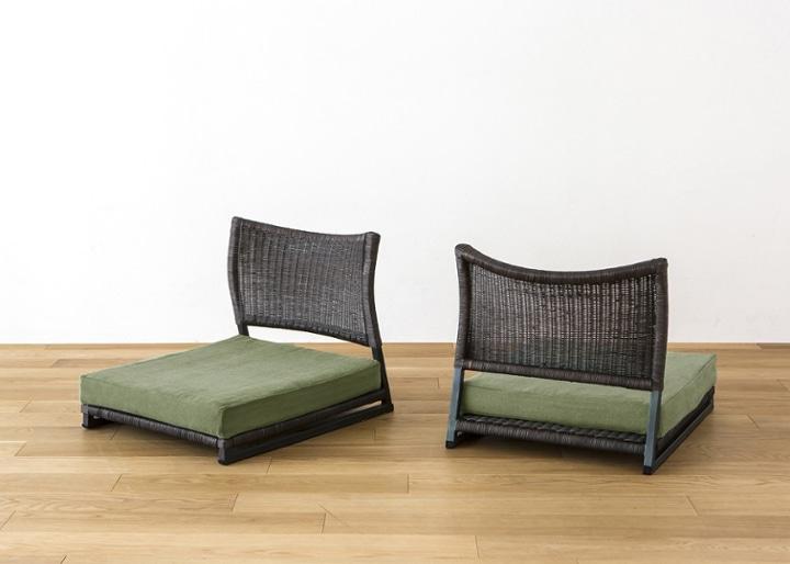 座椅子 (ラタン) カバー (カレイド):画像29