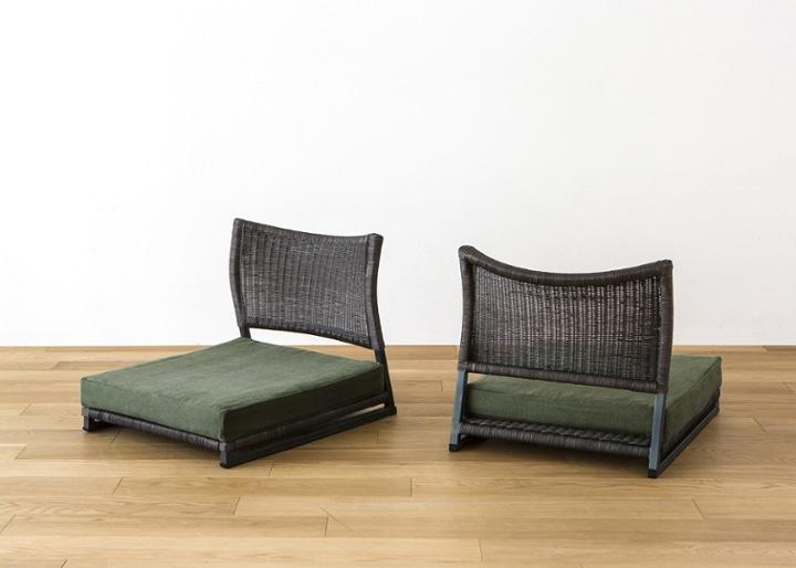 座椅子 (ラタン) カバー (カレイド):画像31