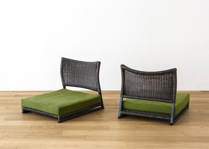 座椅子 (ラタン) カバー (カレイド):画像33