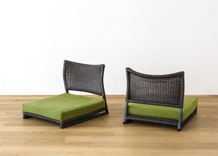 座椅子 (ラタン) カバー (カレイド):画像35