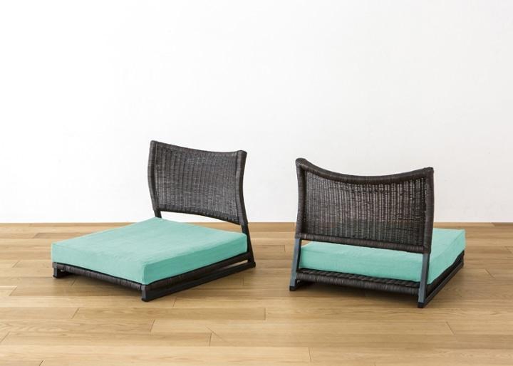 座椅子 (ラタン) カバー (カレイド):画像47