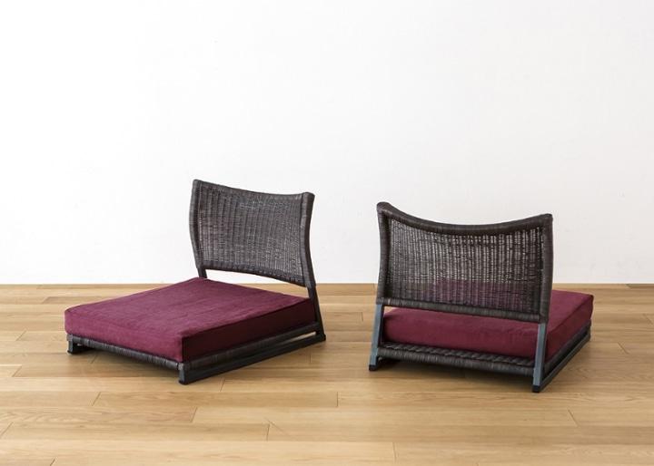 座椅子 (ラタン) カバー (カレイド):画像63