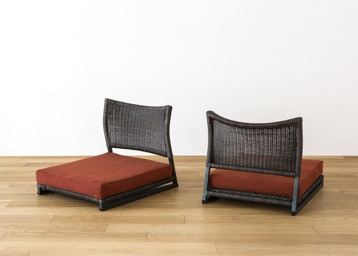 座椅子 (ラタン) カバー (カレイド):画像69