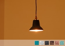高岡銅器 tone pendant light spot