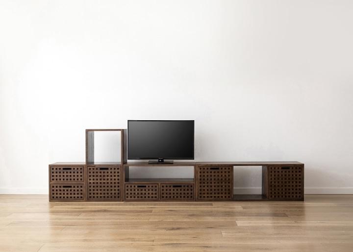 キューブ・テレビボード (GB) v03 セット:画像13