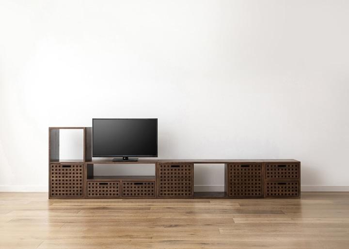キューブ・テレビボード (GB) v03 セット:画像14