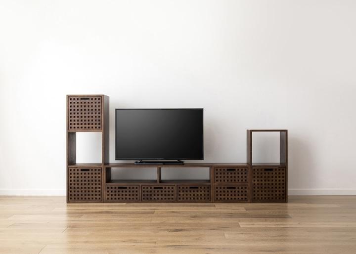 キューブ・テレビボード (GB) v03 セット:画像18