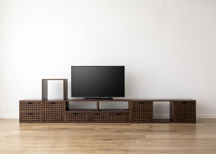キューブ・テレビボード (GB) v03 セット:画像19
