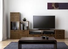 キューブ・テレビボード (GB) v03セット