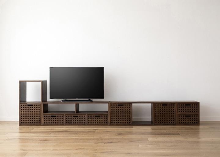 キューブ・テレビボード (GB) v03 セット:画像20