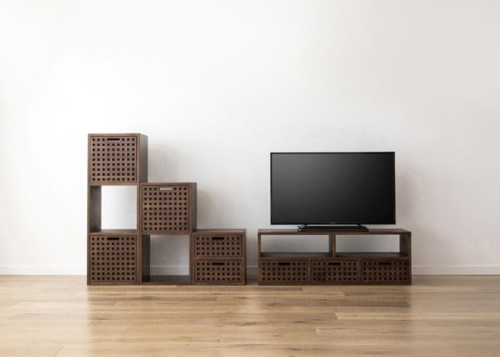 キューブ・テレビボード (GB) v03 セット:画像21
