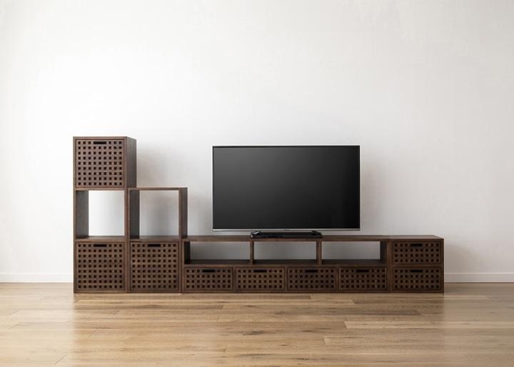 キューブ・テレビボード (GB) v03 セット:画像23