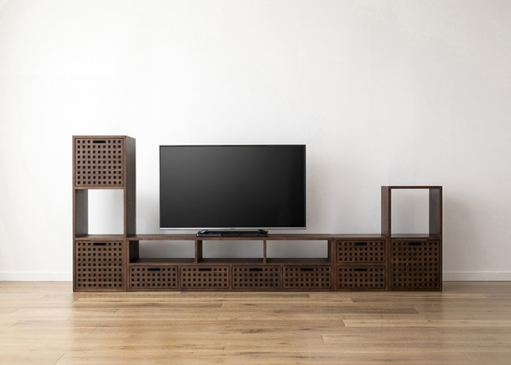 キューブ・テレビボード (GB) v03 セット:画像24