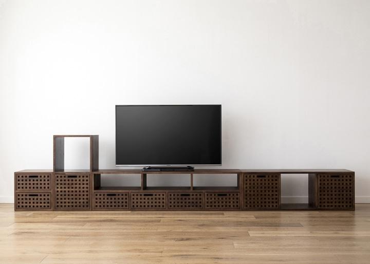 キューブ・テレビボード (GB) v03 セット:画像25