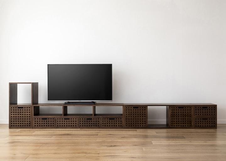 キューブ・テレビボード (GB) v03 セット:画像26