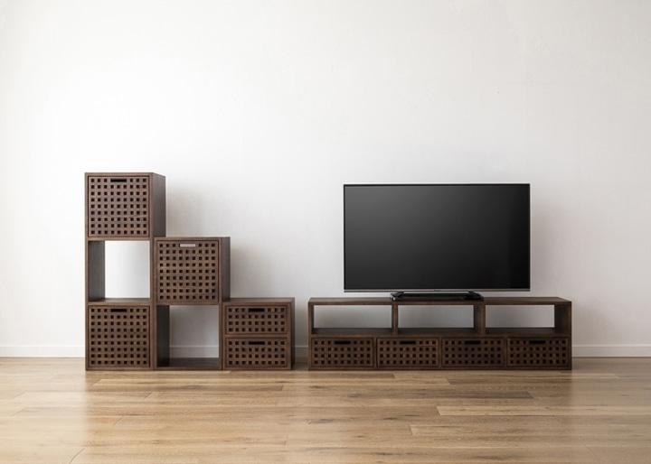 キューブ・テレビボード (GB) v03 セット:画像27