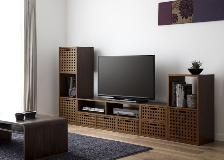 キューブ・テレビボード (GB) v03 セット:画像3