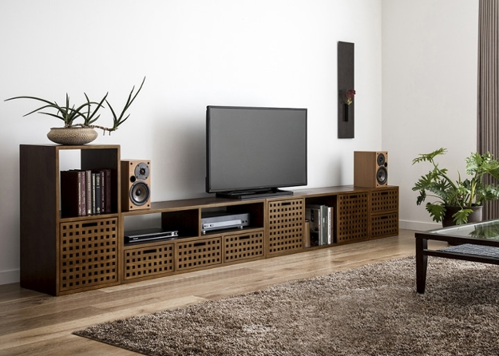 キューブ・テレビボード (GB) v03 セット:画像6