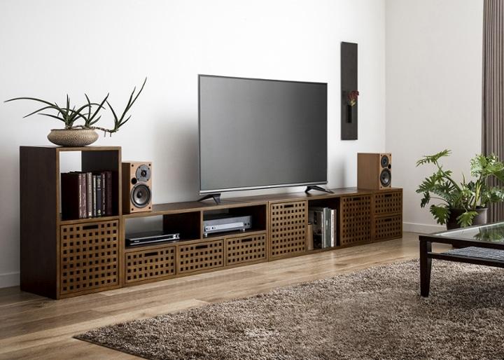キューブ・テレビボード (GB) v03 セット:画像7