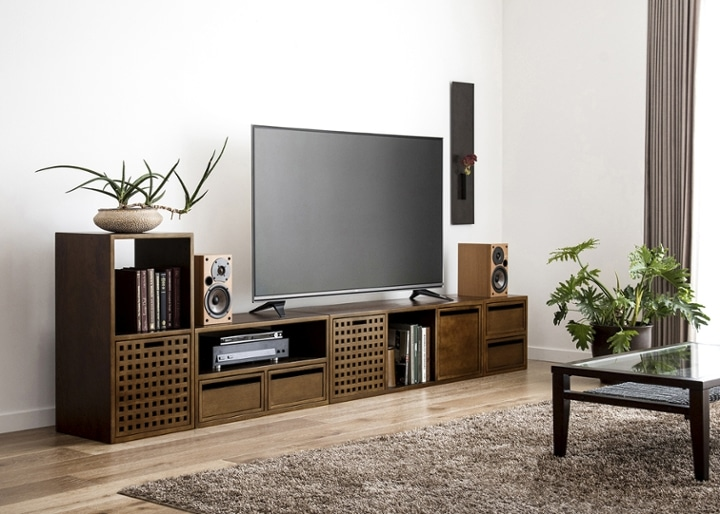 キューブ・テレビボード (GB) v03 セット:画像9